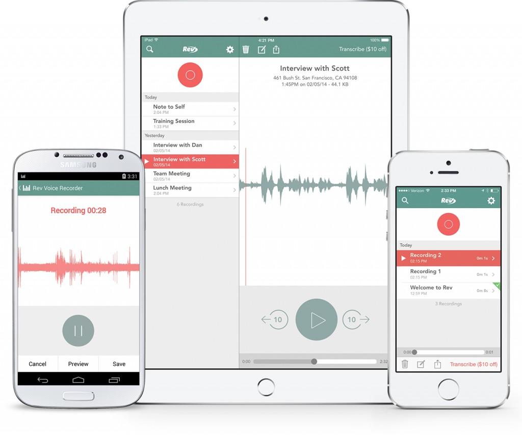 Rev Voice App